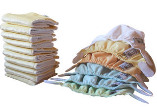 Pop-In Newborn Nappies Pack - Pastel
