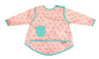 Pop-in Coverall Bib - Russian Dolls