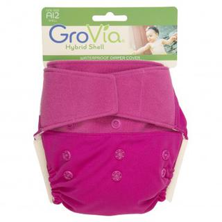 GroVia Hybrid Experience Lotus Hook & Loop Shell Deal - FREE Limited Edition Wetbag included!