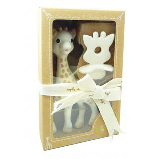Sophie The Giraffe toy and Natural Teether Gift Pack