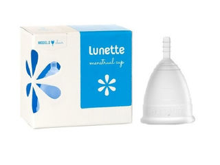 Lunette Menstrual Cup - Clear - Size 1