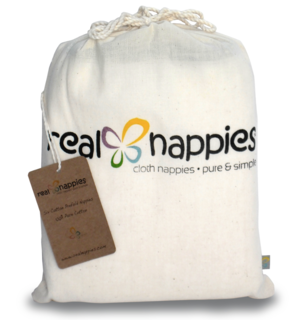 Real Nappies - Traditional Cloth Nappies/Burp Cloths - Six pack- ones size