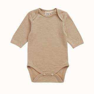 Nature Baby Merino Long Sleeve Bodysuit