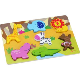 Classic World 3D Puzzle - Wild Animal