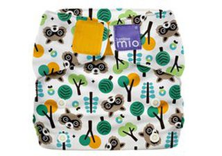 Miosolo All In One Nappy - Raccoon
