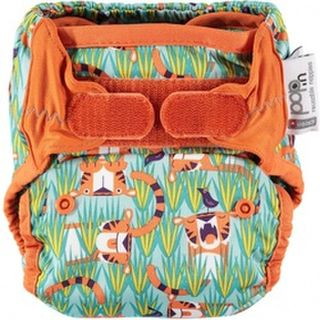Pop-in Reusable Nappy Wrap - Tiger (Oswald & Bo)