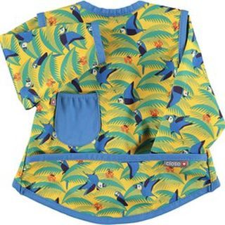 Pop-in Coverall Stage 3 Bib - Parrot