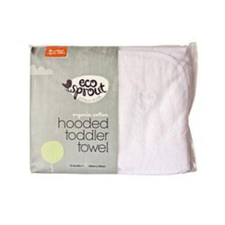 Eco Sprout Organic Cotton Hodded Baby Towel (Single)