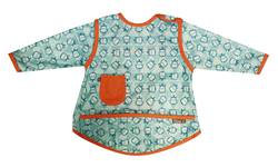 Pop-in Coverall Bib - Hippo