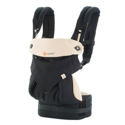 Ergobaby Four-Position 360 Carrier - Black-Camel