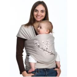 Moby Wrap Almond Blossom - UV Treated - Midweight