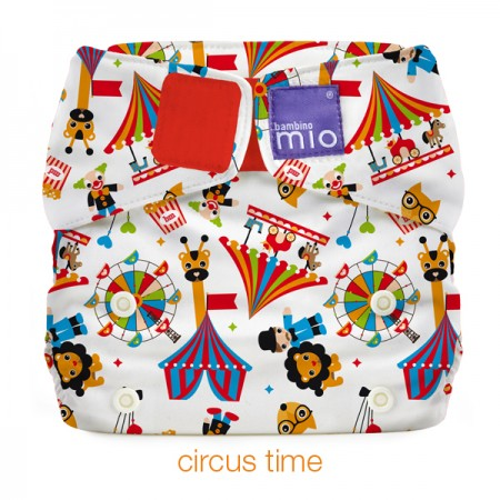 Miosolo all-in-one-nappy - Circus Time