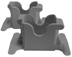 My Buckle Mate - Grey (2 Pack)