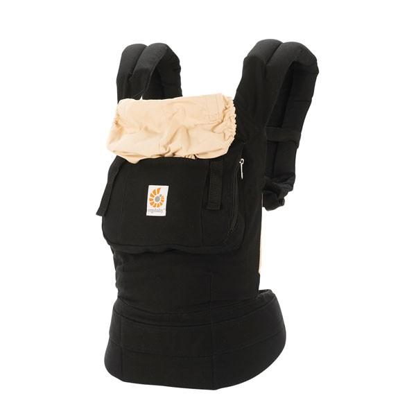 56a654a8cc6 Ergobaby Original Carrier - Black-Camel - Cheeky Cherubs - Cloth ...