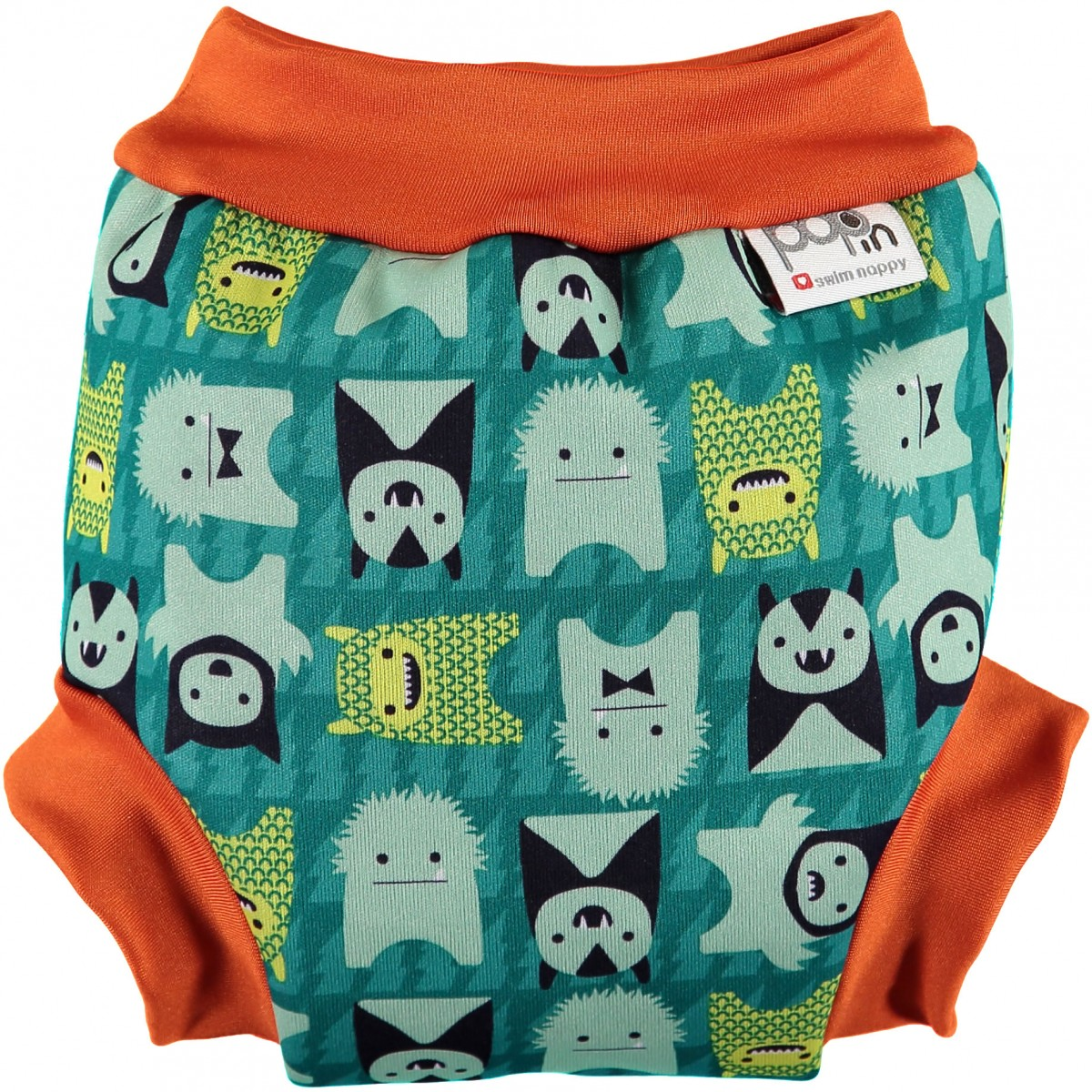 Pop In Swim Nappy - Monster Herman