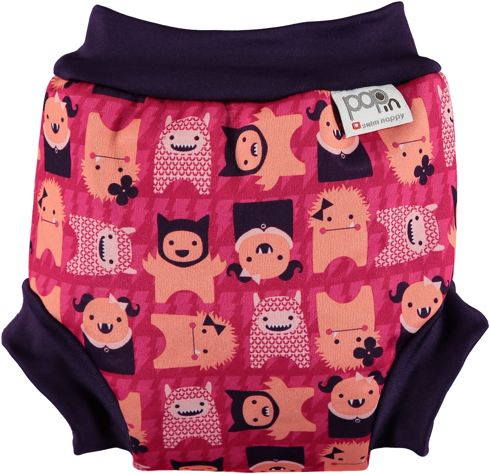 Pop-In Swim Nappy - Monster Edie