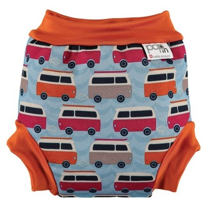 Pop-In Swim Nappy - Campervan Blue