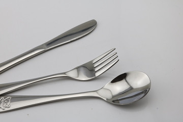 Haakaa Stainless Steel Child Cutlery Set
