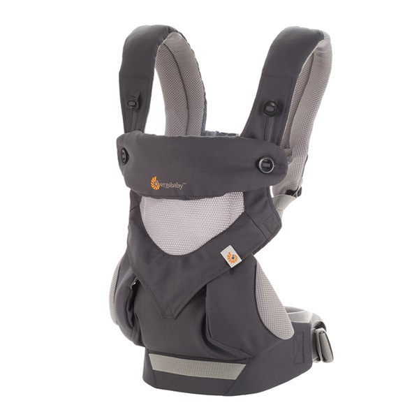 177d454fe00 Ergobaby Four-Position Cool Air 360 Carrier - Carbon Grey - Cheeky ...