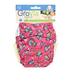 GroVia Hybrid Snap Shell - Butterflies
