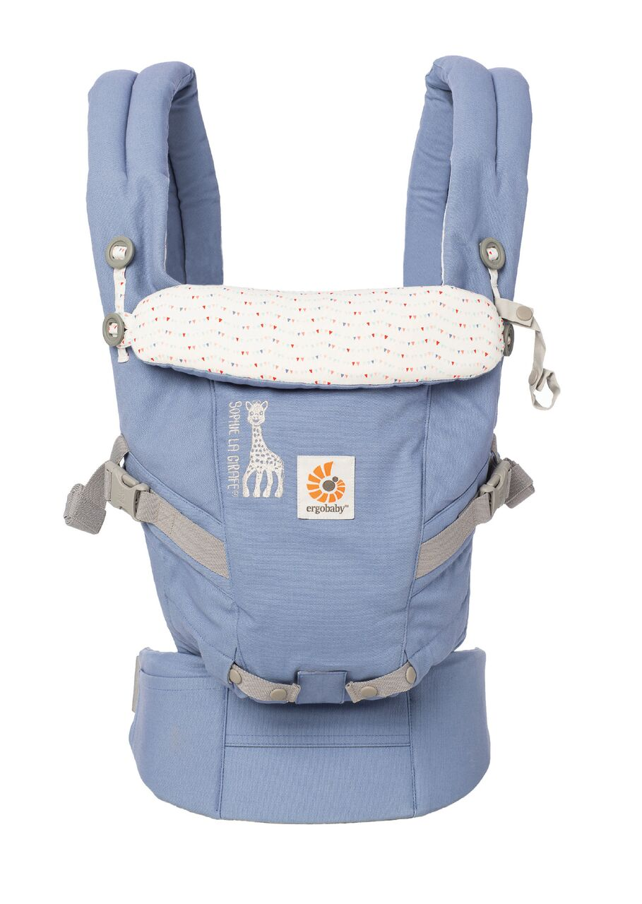 b819ecf79fa Ergobaby Adapt Carrier - Limited Edition - Sophie The Girafe ...