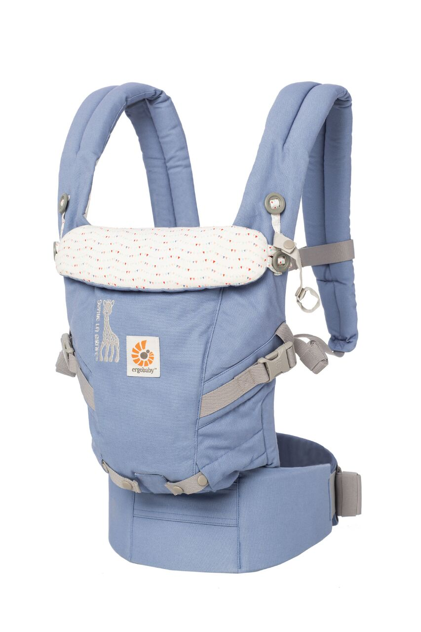 Ergobaby Adapt Carrier - Limited Edition - Sophie The Girafe