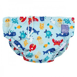 Bambino Mio Swim Nappy - Deep Sea Blue
