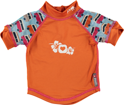Pop-in Rash Vest - Campervan Blue