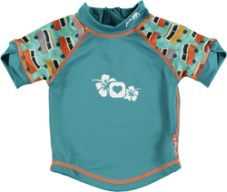Pop-in Rash Vest - Campervan Green