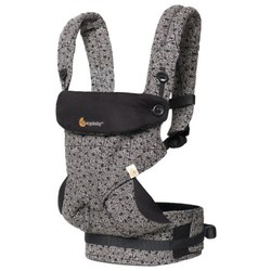 Ergobaby 360 Carrier - Keith Hay Black