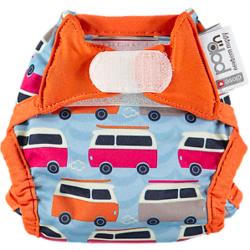 Pop-in Newborn Nappy - Campervan Blue