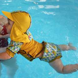 Pop-in Rash Vest and Swim Nappy Combo
