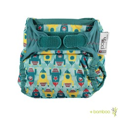 Pop-in Bamboo Nappy - Rockets