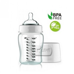 Haakaa Extra Wide Neck Glass Bottle 260ml