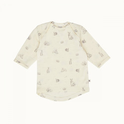 Nature Baby Merino Essentials Tee - Burrowers - Size 1 year