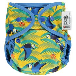 Pop-in Popper Nappy +bamboo - Parrot