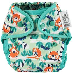 Pop-in Popper Nappy +bamboo - Red Panda