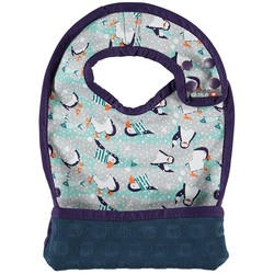 Pop-in Stage 2 Bib - Winter Penguin
