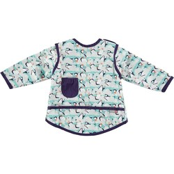 Pop-in Coverall Stage 3 Bib - Winter Penguin