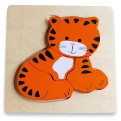 Discoveroo Chunky Puzzles - Tiger