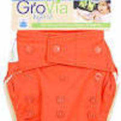 GroVia All In One Nappy - persimmon