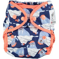 Pop-in Popper Nappy +bamboo - Walrus