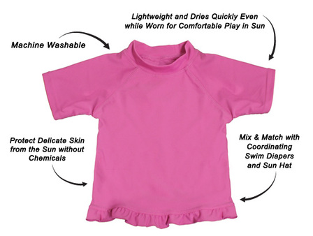 My Swim Baby UV Shirts - Pink