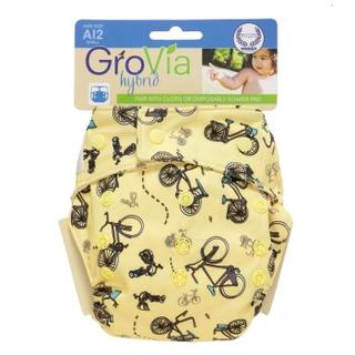 GroVia Hybrid One Size All In 2 Shell - Snaps Closure